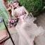 Sevy Princess Diary Flora Sleeveless See-through Maxi Dress thumbnail 5