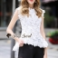 Seoul Secret Say's... White Daisy Cami Blouse thumbnail 3