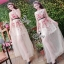 Sevy Princess Diary Flora Sleeveless See-through Maxi Dress thumbnail 4