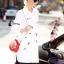 Cliona mdae' &#x1F41DDior&#x1F41D Embroidered Long Shirt thumbnail 2