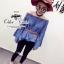 &#x2654Denim off-shoulder bell sleeve blouse&#x2654 &#x2661Odee&Cutie Daily Fashion 2016&#x2661 thumbnail 5