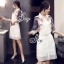 Sevy Make Up Stylish Women Organza Mini Dress(+Lining) thumbnail 1