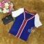 Sevy Sport Girl Knit V-Nack Zipper Front T-Shirt thumbnail 7