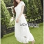 &#x1F380 Lady Ribbon's Made &#x1F380 Lady Hana Classic Feminine Lace Maxi Dress in White thumbnail 3