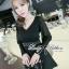 &#x1F380 Lady Ribbon's Made &#x1F380 Lady Lilly Embellished Flare Dress thumbnail 2