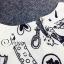 Sevy Spring Korean Printed Round Neck Org Sleeve Mini Dress thumbnail 7