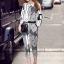 Cliona made' Black Hawks Sportswear Long Sleeves Top + Pant Set thumbnail 4