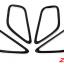 ครอบเบ้ามือเปิดด้านใน CX-5 สีดำเงา thumbnail 2