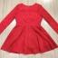 Cliona made'Luxury Lace Ribon Long Sleeves Dress - Mini dress thumbnail 7