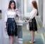 &#x1F380 Lady Ribbon's Made &#x1F380 Lady Emma Classic Vintage White Lace Shirt thumbnail 1