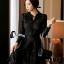 Cliona made' Miss Dior Black Lace Long Sleeves Dress - Mini dress thumbnail 2