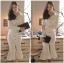&#x1F380 Lady Ribbon's Made &#x1F380 Lady Isabel Sexy Minimal Bodycon Shirt Dress thumbnail 2