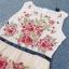Sevy Princess Diary Flora Sleeveless See-through Maxi Dress thumbnail 7