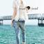 Seoul Secret Say's...Chic Diamond Furnish Lace Blouse thumbnail 5