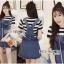&#x1F380 Lady Ribbon's Made &#x1F380 Lady Lindsay Playful Street Style Denim Overall Dress thumbnail 2