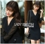 &#x1F380 Lady Ribbon's Made &#x1F380 Lady Alice Smart Casual Flare-Sleeve Suit Dress thumbnail 4