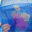 ม่านประตูกันยุงแบบพิมพ์ลาย ไชส์ 100 สีฟ้า/ช่อกุหลาบ thumbnail 3