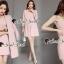 Seoul Secret Say's... Chic Coral Pink Cami Suite Set thumbnail 3
