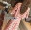 &#x1F380 Lady Ribbon's Made &#x1F380 Lady Charlotte Pinky Feminine Hearty Embroidered Set thumbnail 3