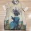 Clona made' Glow Luxury Floral Silk Dress - Mini dress thumbnail 7