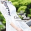 Lavender embroidery lace dress Odee&Cutie Daily Fashion thumbnail 3
