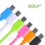 สายชาร์จ Micro USB GOLF Colorful สายกลมยาว 2 เมตร thumbnail 1