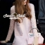 Seoul Secret Say's... Pastel Salmon Pink Girly Dress Outer Set thumbnail 8