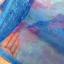 ม่านกันยุงแบบพิมพ์ลาย ไชส์ 100 สีฟ้า/ดอกลิลลี่ thumbnail 4
