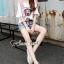 Seoul Secret Say's... Moschino Cami Chic Denim Shorts Set thumbnail 2