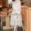 Seoul Secret Say's... Princess Flora Curvle Skirt Lace Blouse Set thumbnail 1