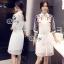 Sevy Make Up Stylish Women Organza Mini Dress(+Lining) thumbnail 3