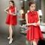 Sevy So Hot Ribbon Neck Sleeveless A Line Mini Dress thumbnail 5