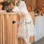 Seoul Secret Say's... Princess Flora Curvle Skirt Lace Blouse Set thumbnail 4