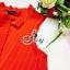 Sevy So Hot Ribbon Neck Sleeveless A Line Mini Dress thumbnail 7