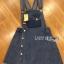&#x1F380 Lady Ribbon's Made &#x1F380 Lady Lindsay Playful Street Style Denim Overall Dress thumbnail 4