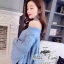 &#x2654Denim off-shoulder bell sleeve blouse&#x2654 &#x2661Odee&Cutie Daily Fashion 2016&#x2661 thumbnail 7