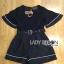 &#x1F380 Lady Ribbon's Made &#x1F380 Lady Courtney Casual Sunday Black Mini Playsuit with Belt thumbnail 5