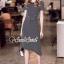 Seoul Secret Say's... Chic Lacely Rear Stripy Dress thumbnail 5