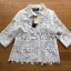 &#x1F380 Lady Ribbon's Made &#x1F380 Lady Emma Classic Vintage White Lace Shirt thumbnail 4