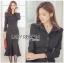 &#x1F380 Lady Ribbon's Made &#x1F380 Lady Isabel Sexy Minimal Bodycon Shirt Dress thumbnail 3