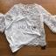 🎀 Lady Ribbon's Made 🎀Lady Bella Ruffle-Sleeve White Scallop Lace Blouse เสื้อผ้าลูกไม้ลาย thumbnail 4