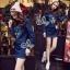 Sevy Kenzo Denim Signature Long Sleeve Mini Dress thumbnail 2