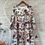 Korea Design By Lavida luxury red rose printed long sleeve dress thumbnail 6