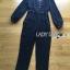 &#x1F380 Lady Ribbon's Made &#x1F380 Lady Helena Elegant Chic Studded Crepe Black Jumpsuit thumbnail 5