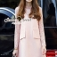 Seoul Secret Say's... Pastel Salmon Pink Girly Dress Outer Set thumbnail 1