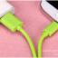 สายชาร์จ Micro USB GOLF Colorful สายกลมยาว 2 เมตร thumbnail 3