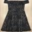 Cliona Made'Black Lace Sexy Shoulder Off Mini Dress - Mini Dress thumbnail 5