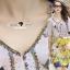 Seoul Secret Say's... Vintage Yellow Blossom Print Dress thumbnail 7