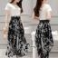 Cliona Made' Zara White Top + Black Tiger Line Set thumbnail 4