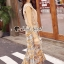 Seoul Secret Say's... Girly Creaming Lace Sleevless Bloom Skirt Set thumbnail 3